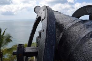 isla providencia cannon captain morgan